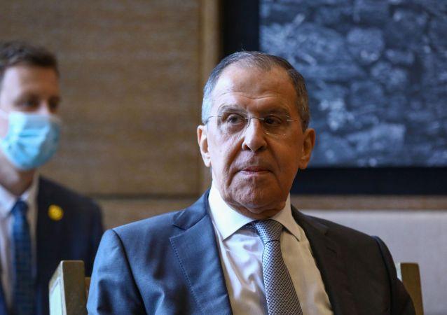 俄外长:俄中应一起捍卫西方无视的《联合国宪章》原则