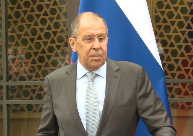 俄罗斯联邦外交部长谢尔盖•拉夫罗夫