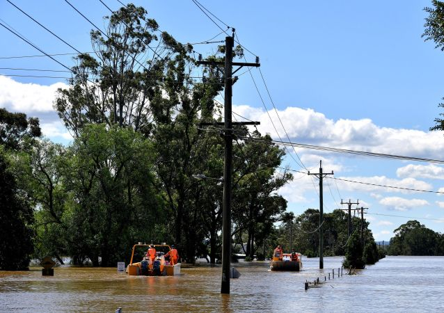澳大利亚洪水