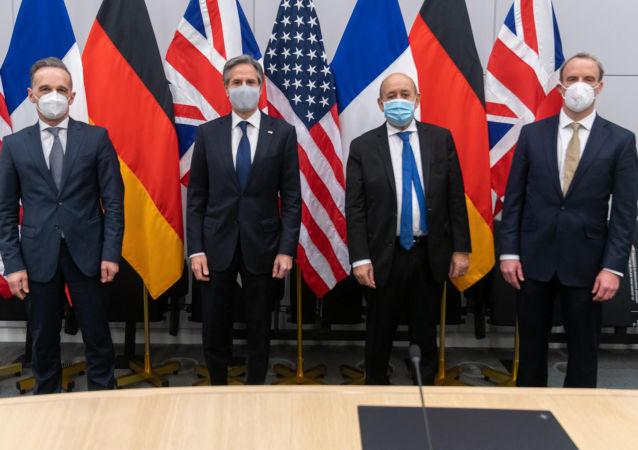 美国将与欧盟伙伴一起反击中国的挑衅