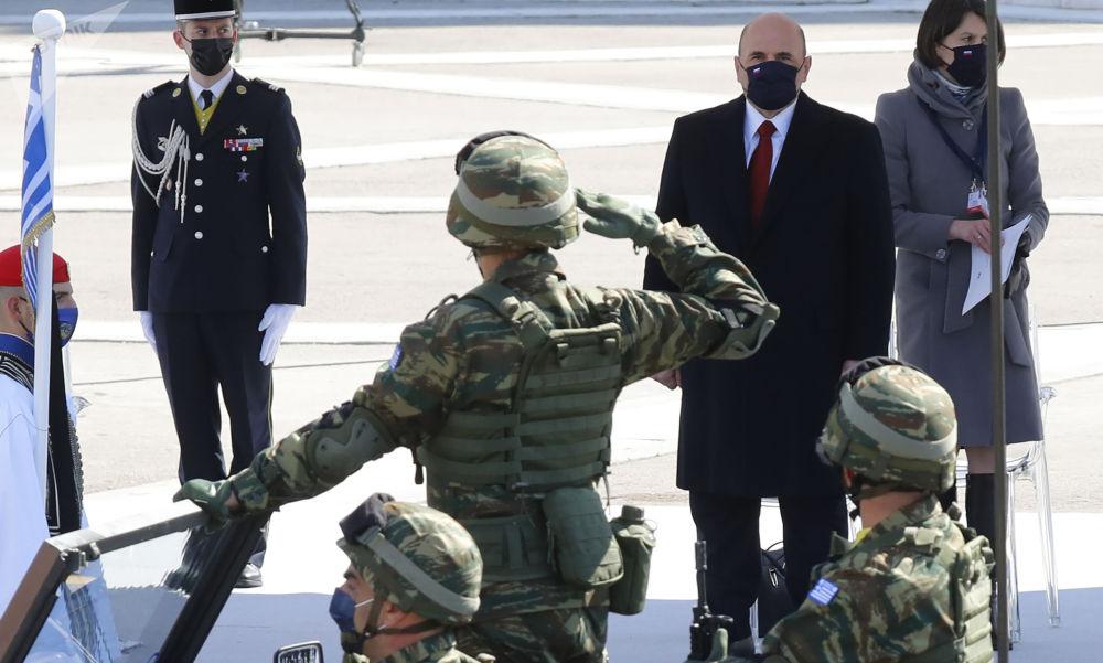 俄联邦总理米舒斯京对希腊进行正式访问。