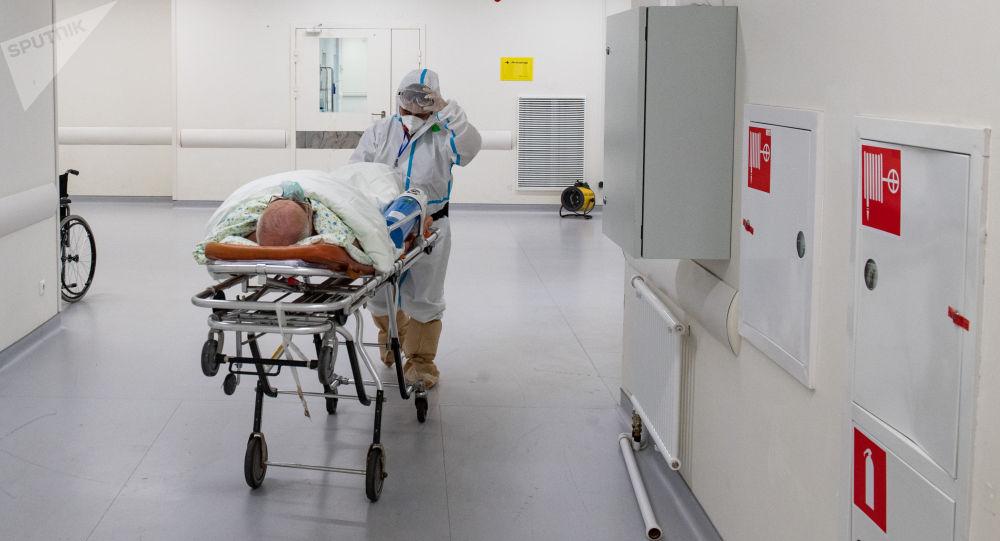 俄单日新增新冠病毒感染病例8840例 累计超474.4万例