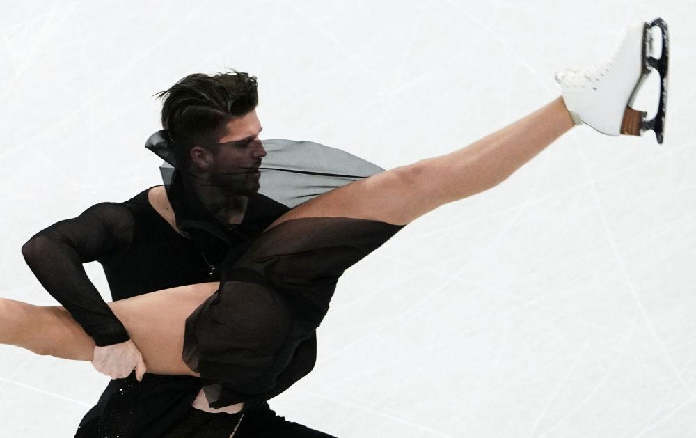 世界滑冰锦标赛自由节目。