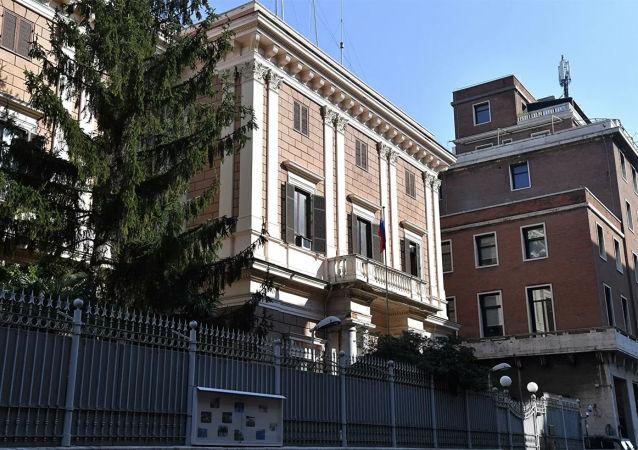因间谍罪被拘留的俄使馆工作人员将被驱逐出意大利