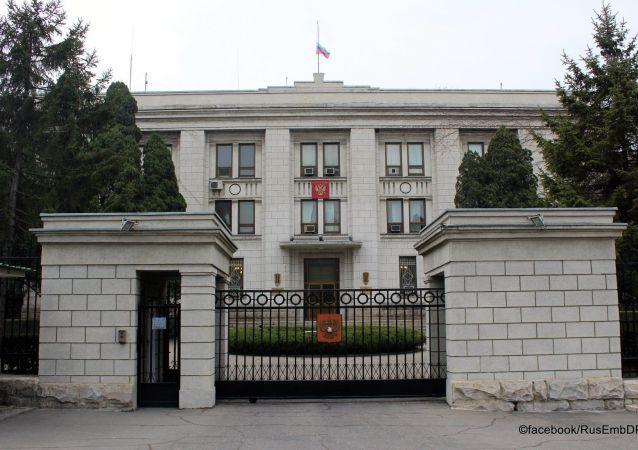 俄驻朝鲜大使有中国、叙利亚和巴勒斯坦同行作伴