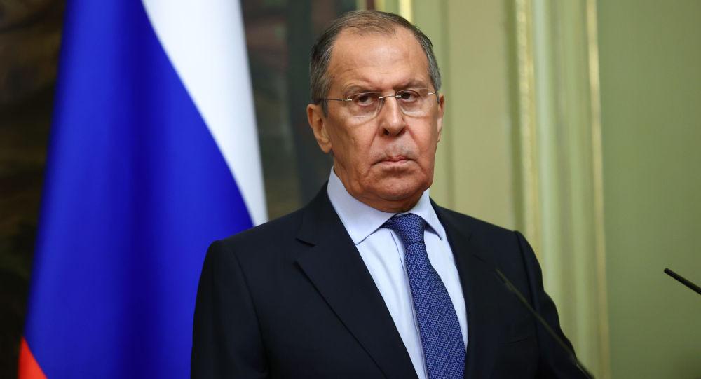 俄罗斯外交部部长谢尔盖·拉夫罗夫