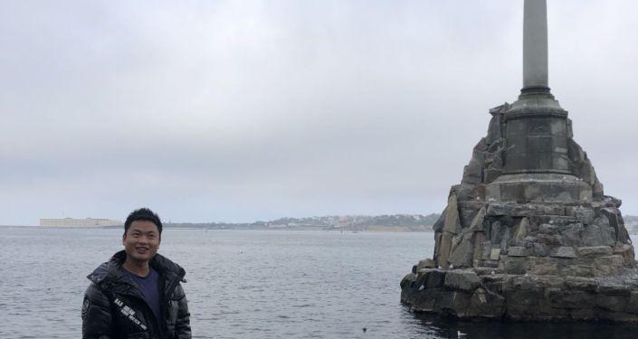 克里米亚、塞港沉船纪念碑