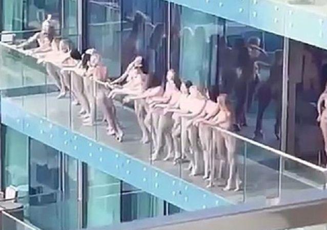 模特在迪拜拍摄裸体写真后被捕