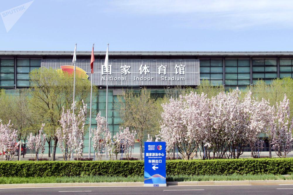 2022年北京冬奥会冰上项目测试赛的举办场馆。