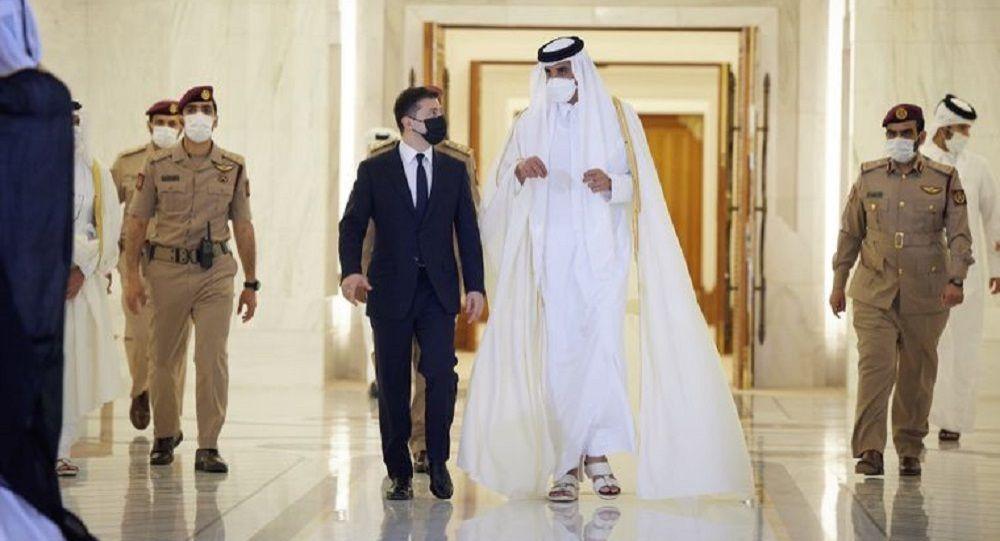 泽连斯基代表团访问卡塔尔时严重违反礼节