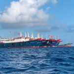 菲律宾外交部对中国船只提出新抗议