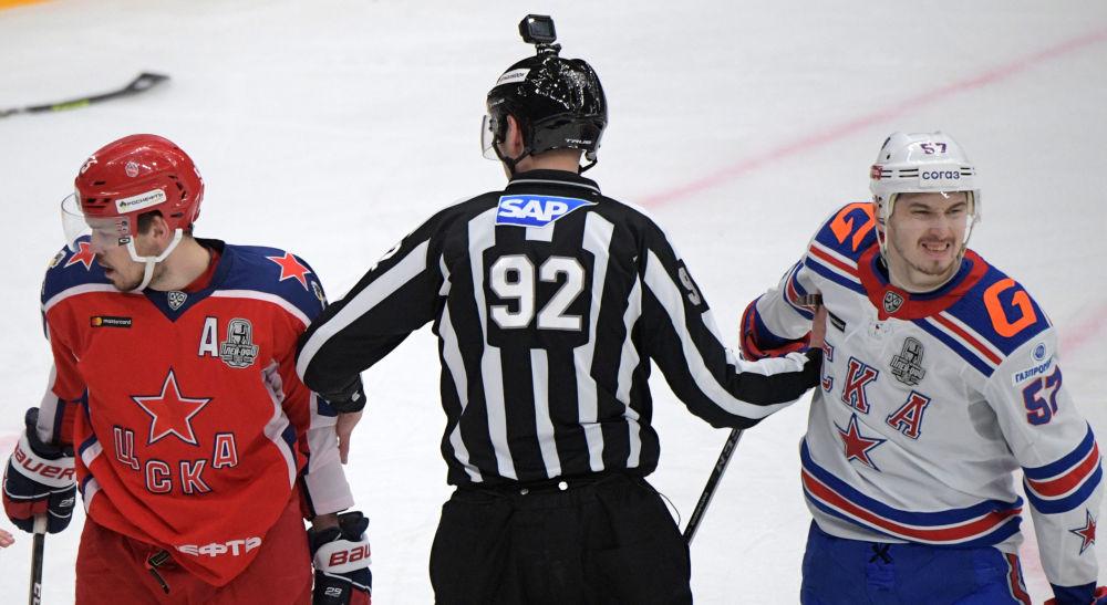 大陆冰球联赛,中央陆军对阵圣彼得堡SKA