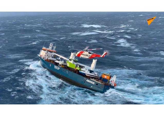 荷兰油轮在挪威海岸附近发出求救信号