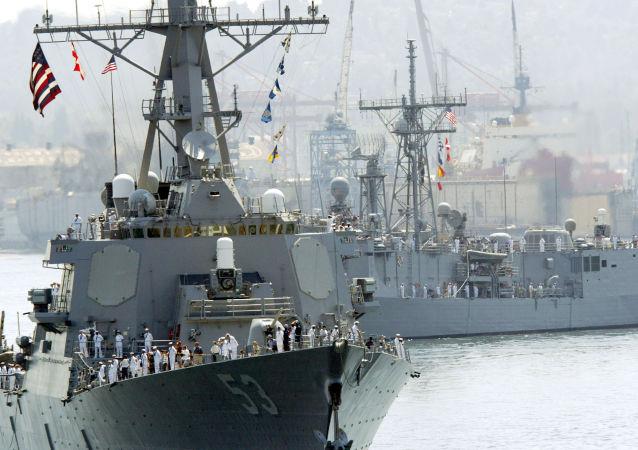 """美国海军""""约翰·保罗·琼斯""""号驱逐舰"""