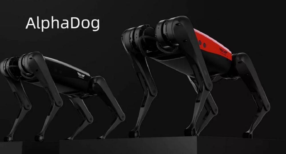 """""""AlphaDog""""机器人"""