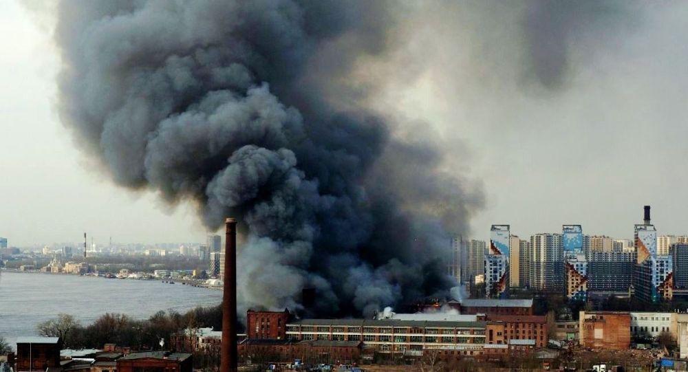 圣彼得堡市涅瓦纺织厂的火灾