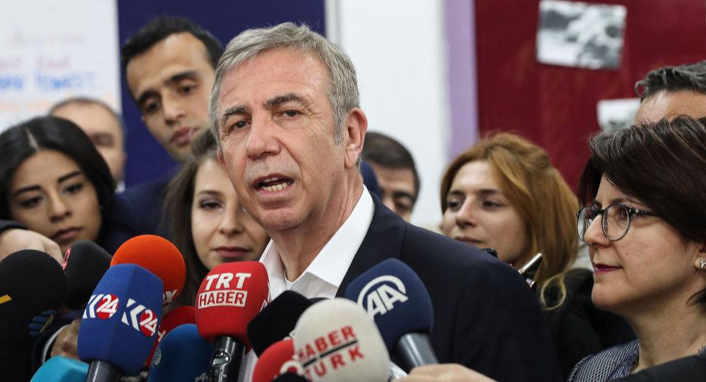 """安卡拉市长、""""共和人民党""""成员亚瓦斯"""