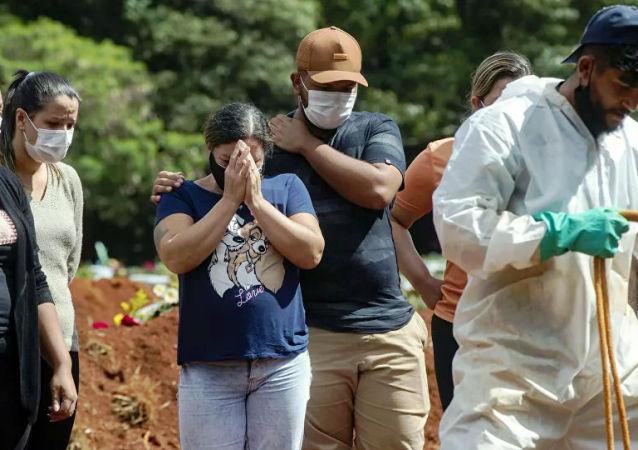 巴西单日新增超3.8万例新冠病毒感染病例