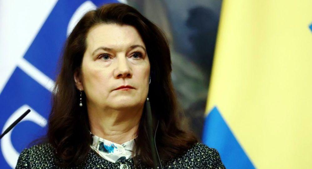 瑞典外交大臣林德
