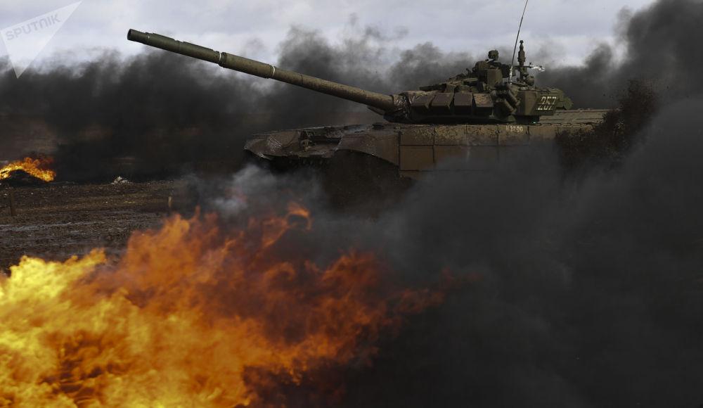 """斯维尔德洛夫州""""国际军事比赛""""比赛。"""