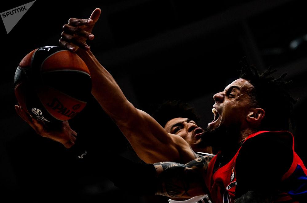 欧洲篮球联赛:中央陆军-阿斯维尔。