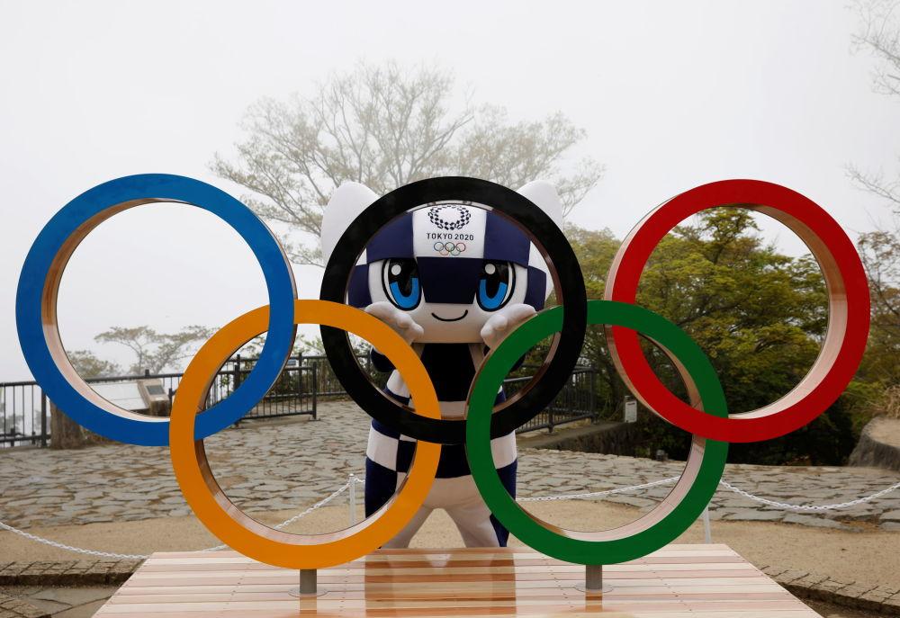 2020年东京奥运会吉祥物Miraitowa(未来,永恒)。