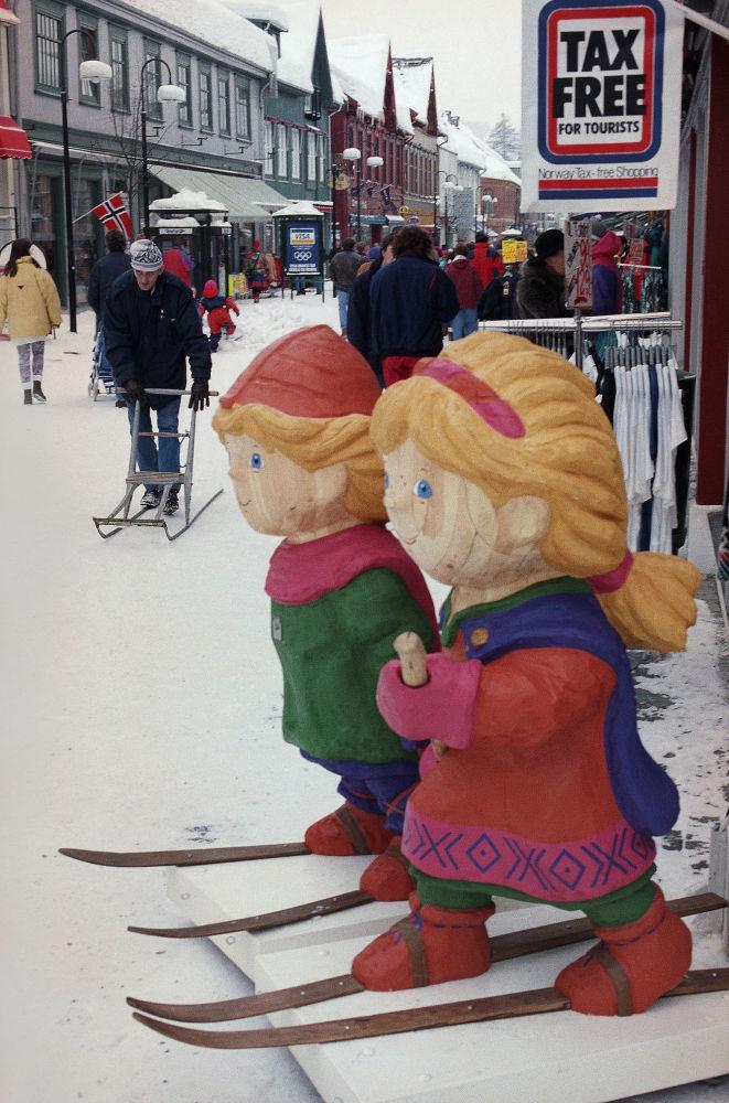 1994年挪威利勒哈默尔冬奥会吉祥物。
