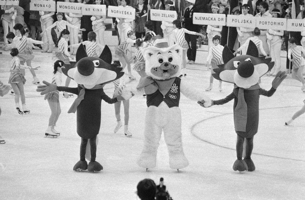 1984年南斯拉夫萨拉热窝冬奥会吉祥物乌科狼。