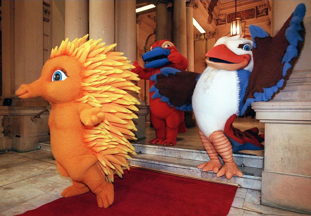 2000年悉尼奥运会吉祥物。