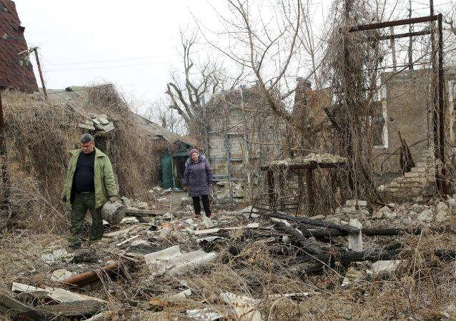 乌克兰向顿涅茨克南部发射7枚迫击炮弹
