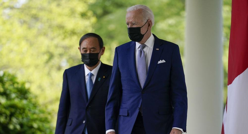 拜登:已同日本首相商定就中国和朝鲜问题展开合作