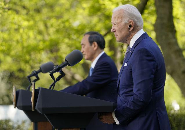 日本首相:日美两国反对改变南海现状的企图