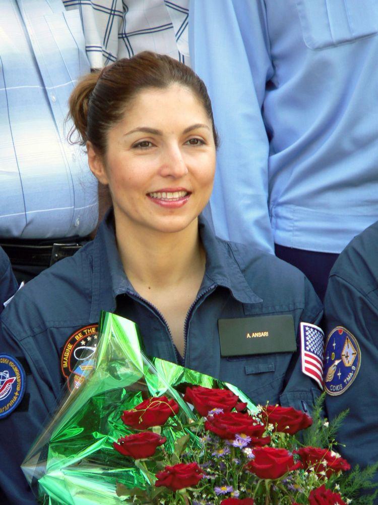首位太空女游客阿努什·安萨里。