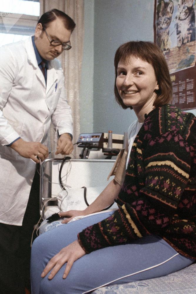 英国首位进入太空的航天员海伦·沙曼。
