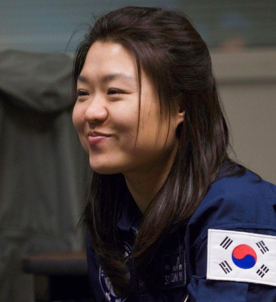 韩国首位女航天员李素妍。