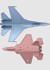 苏-35S和KAI KF-X军机对比