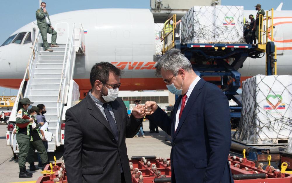 俄罗斯87万瓶胰岛素运抵委内瑞拉。