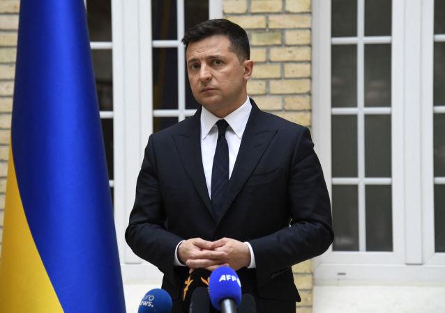 乌克兰总统弗拉基米尔•泽连斯基