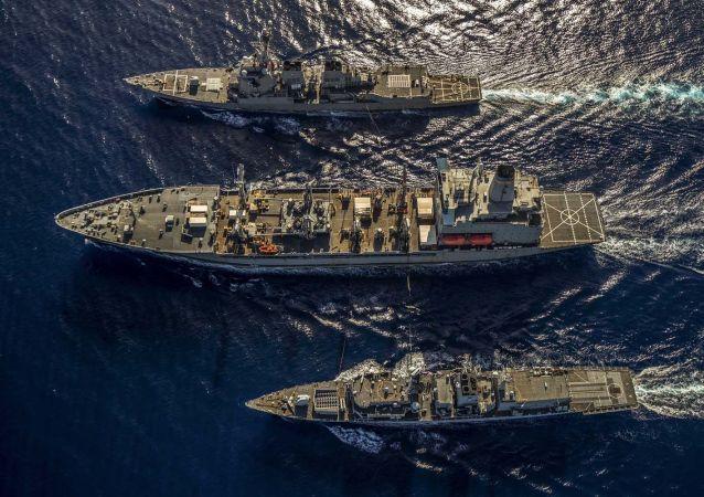 专家:为向美国表忠 欧盟将扩大在印太地区的海军存在