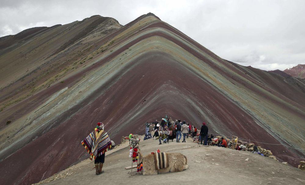 秘鲁彩虹山。