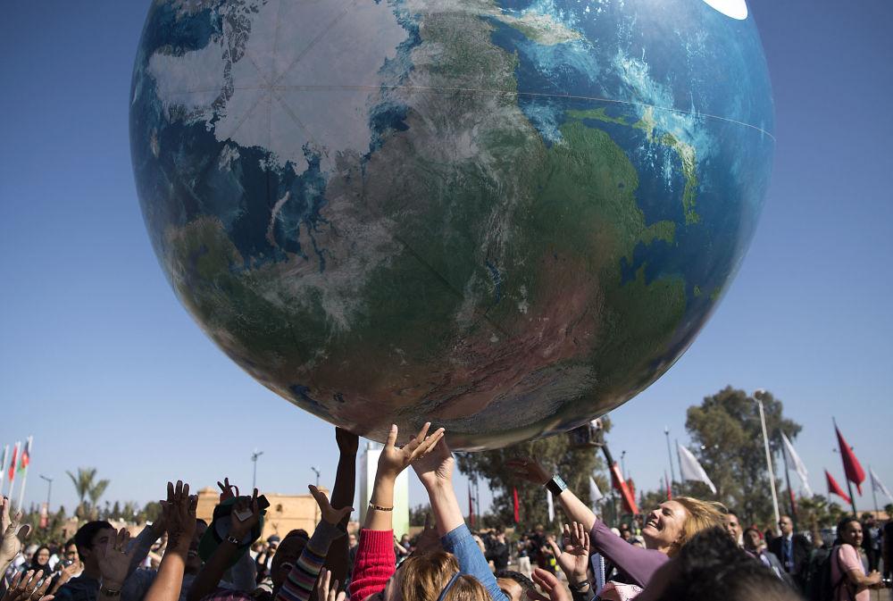 联合国气候变化大会。