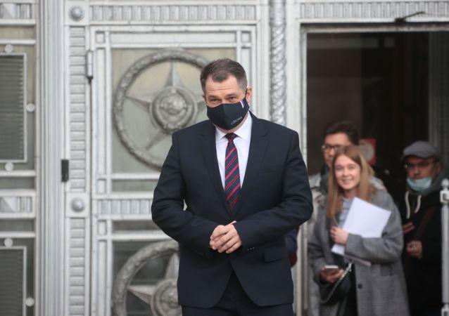 捷克驻俄大使皮冯卡