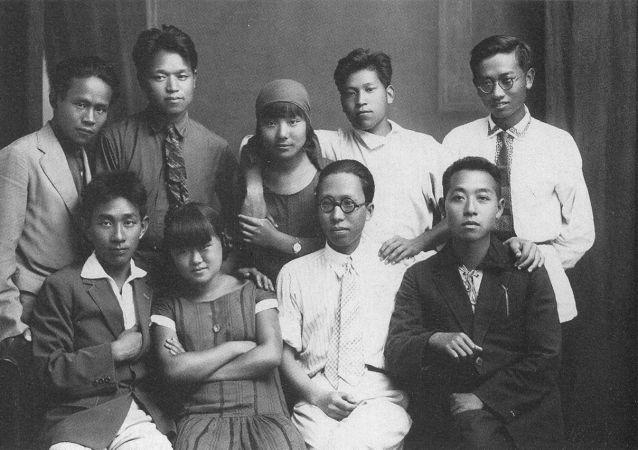 中国劳动者孙逸仙大学(中国劳动者共产主义大学)的学生们