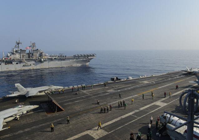 中国将对美国在其边境地区的频繁动作做出反应