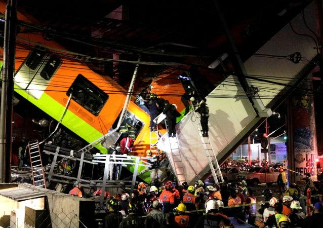 墨西哥地铁垮塌事故