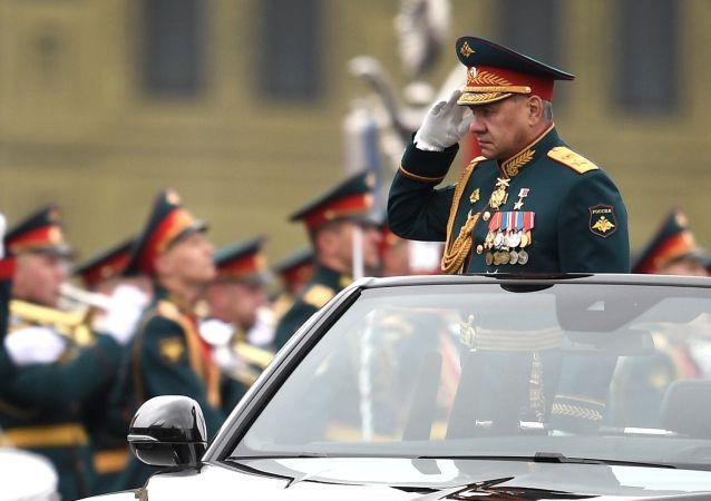 绍伊古对所有参与卫国战争胜利76周年阅兵的人表示感谢