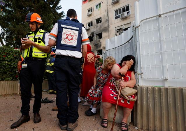 媒体:火箭弹袭击造成以色列洛德市一名儿童死亡