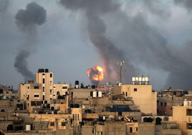 媒体:埃及代表团抵达加沙地带就巴以停火问题进行谈判