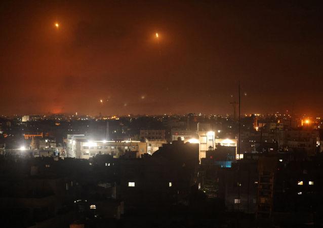 局势紧张后一千多枚火箭从加沙地区射向以色列