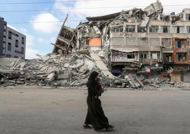 联合国:约1万巴勒斯坦人因战争流离失所